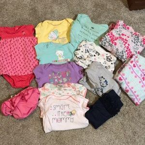 Size 6-9 month lot